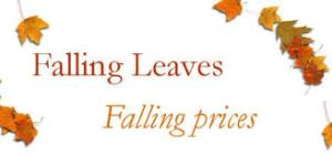 falling leaves falling prices