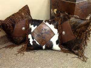 cowhide pillow 2