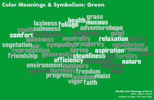 color meaning green