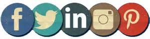 social media buttons 2