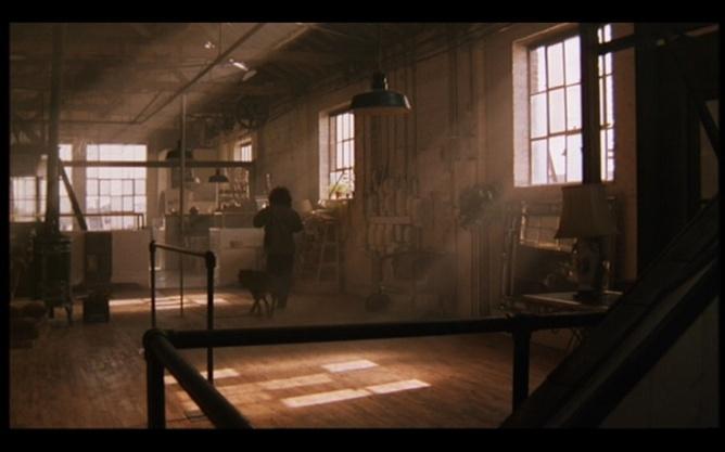 Flashdance loft scene