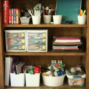 organized-homework-station