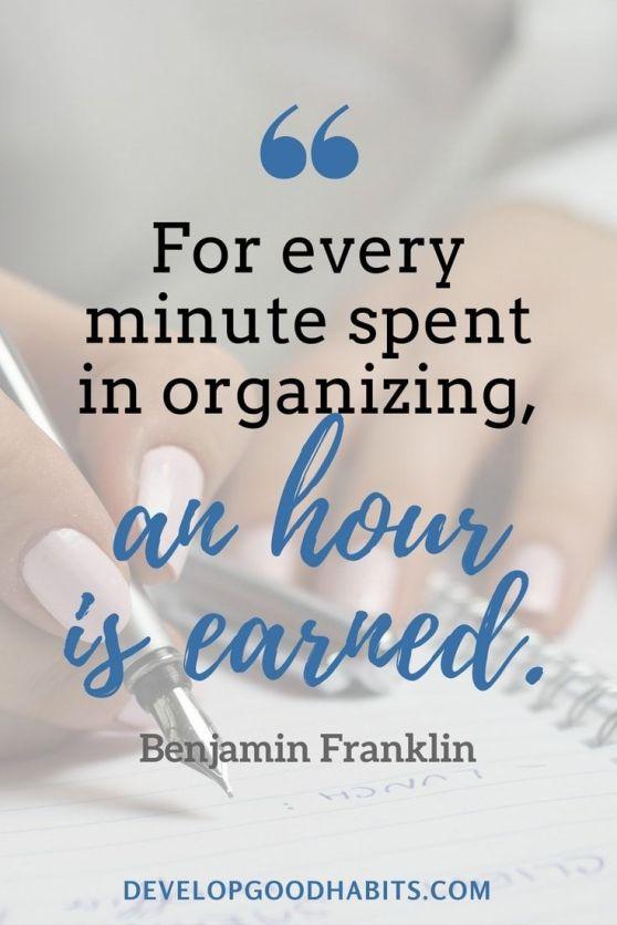 organizing quotes 2