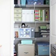 school and work supply closet