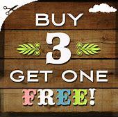 buy 3 get 1 free