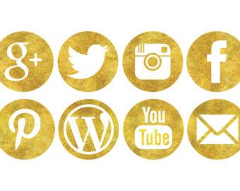 sparkle social icons
