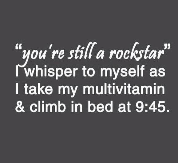 You are still a rockstar