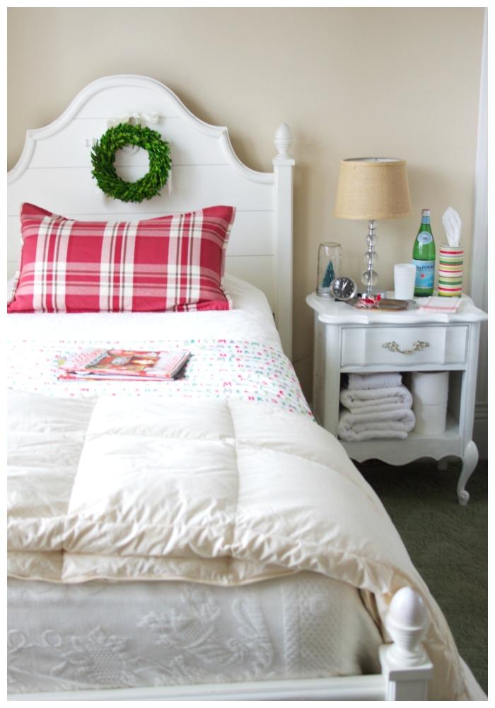 preparing a guest room 7