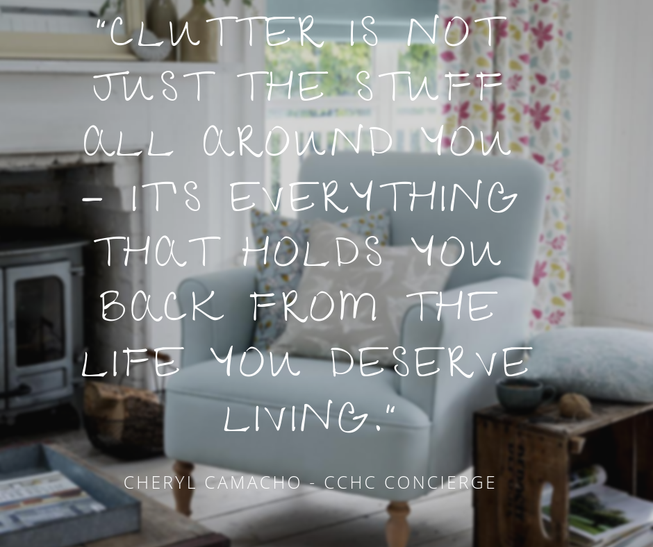 Clutter is not just the stuff all around you