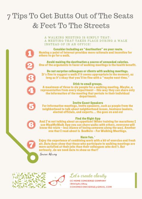 Walking Meeting tips
