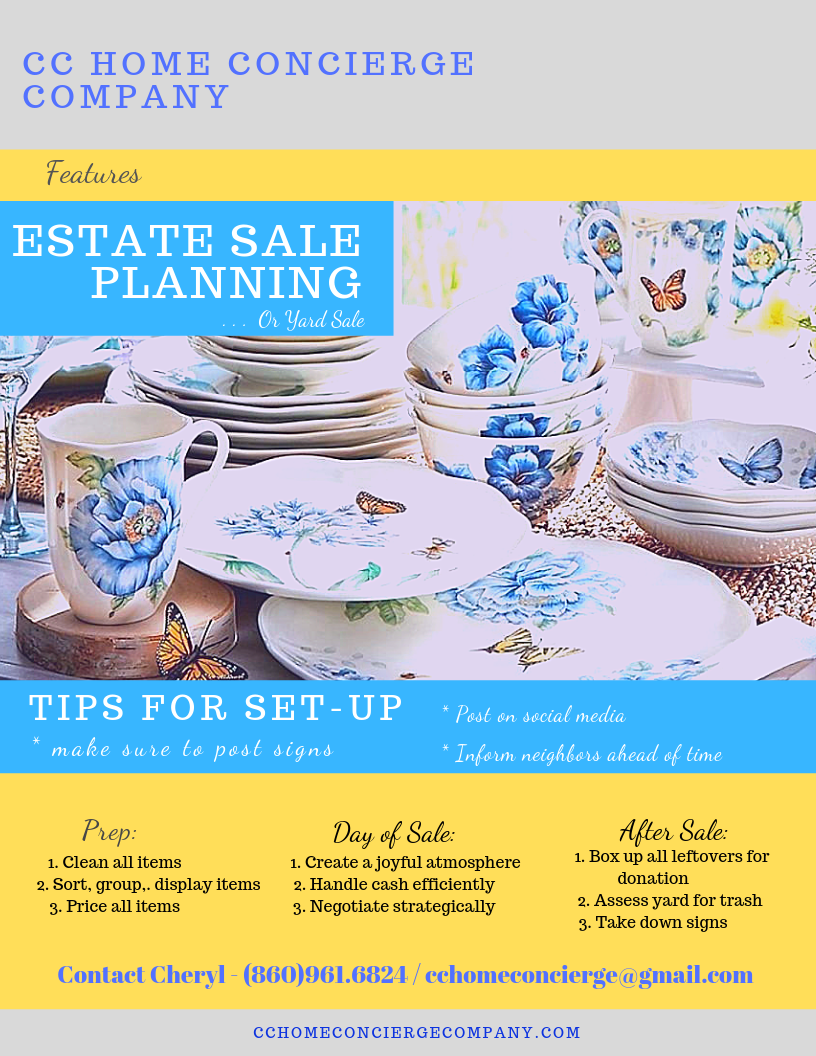 Setting Up an Estate Sale 052019