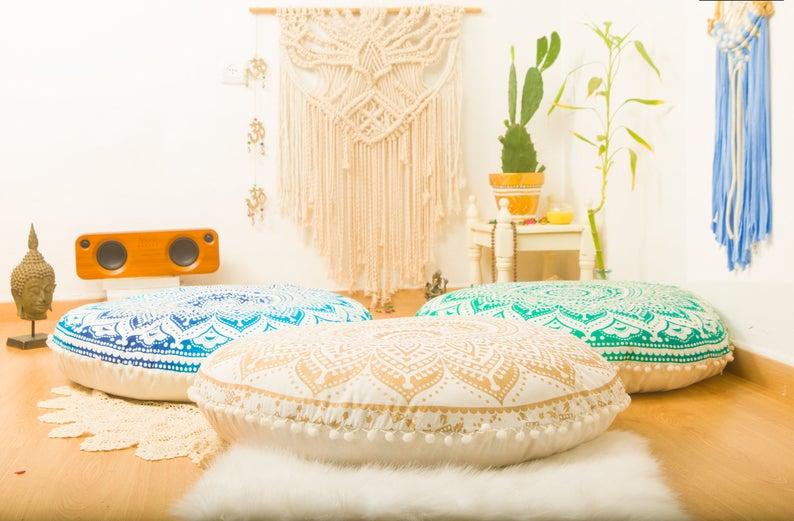 Floor cushions 2