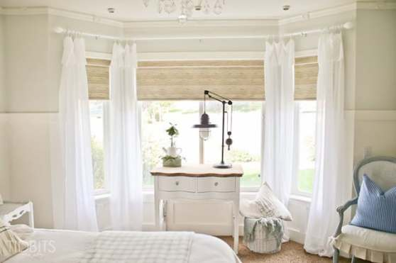 Lighter window treatment