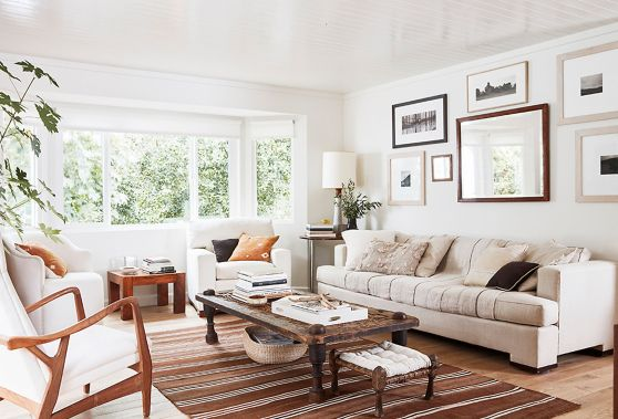Summer beige rose home interiors