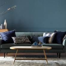 navy blue home interiors