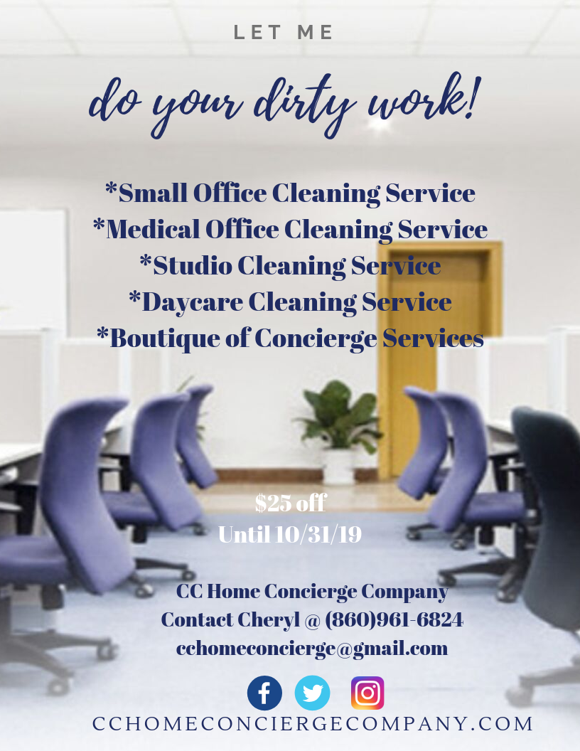 Commercial Cleaning October 2019