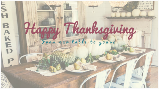 From Our Table To Yours